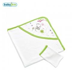 Babyjem Yeni Doğan Havlusu Yeşil