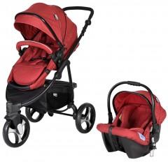 Sunny Baby 772 Camenta Joger Travel Set Bebek Arabası Kırmızı