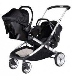 Prego 2072 İbiza Travel Set Bebek Arabası Siyah
