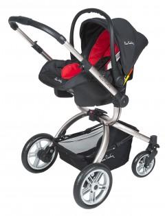 Pierre Cardin PC405 Twist Travel Bebek Arabası Siyah