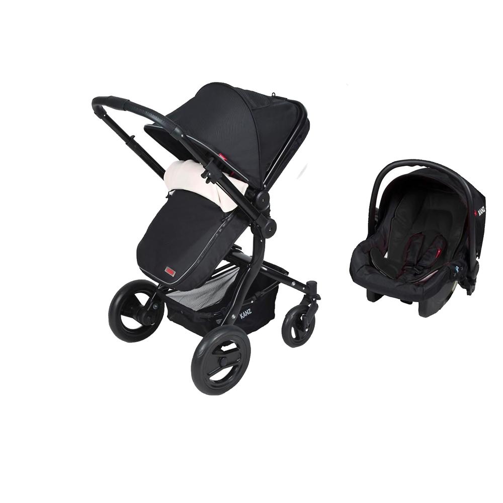 Kanz KZ4012 Proxima Travel Bebek Arabası Siyah