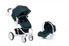 Sunny Baby Saturn Plus Travel Sistem Bebek Arabası - Yeşil