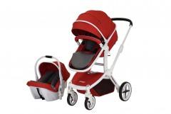 Prego Quattro Travel Sistem Bebek Arabası - Kırmızı