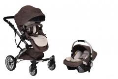 Prego 2070 Laon Travel Sistem Bebek Arabası - Kahve