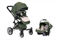 Prego Laon Bebek Arabası - Yeşil