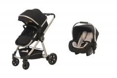 Baby2Go 8033 Power Lüks Travel Sistem Bebek Arabası Siyah