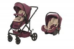 Baby2Go 8044 Spring Travel Sistem Bebek Arabası Mor