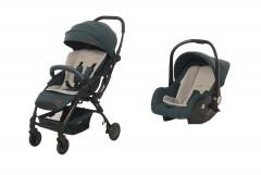 Baby2Go 8045 Lindo Travel Sistem Bebek Arabası Yeşil