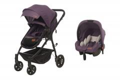 Baby2Go 8046 Caromio Travel Sistem Bebek Arabası Mor