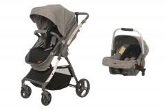 Baby2Go 8047 Future Travel Sistem Bebek Arabası Gri
