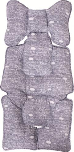 Sevi Bebe Puset Ve Oto Koltuğu Minderi Kot Desen