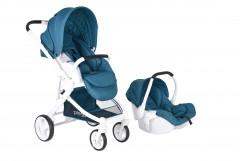 Prego 2042 Titan Travel Set Bebek Arabası Mavi
