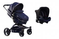 Maller Baby Stella Twist Travel Sistem Bebek Arabası Lacivert