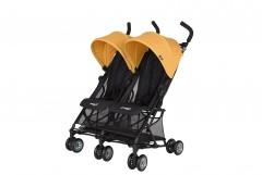 Prego Momentum İkiz Bebek Arrabası - Sarı