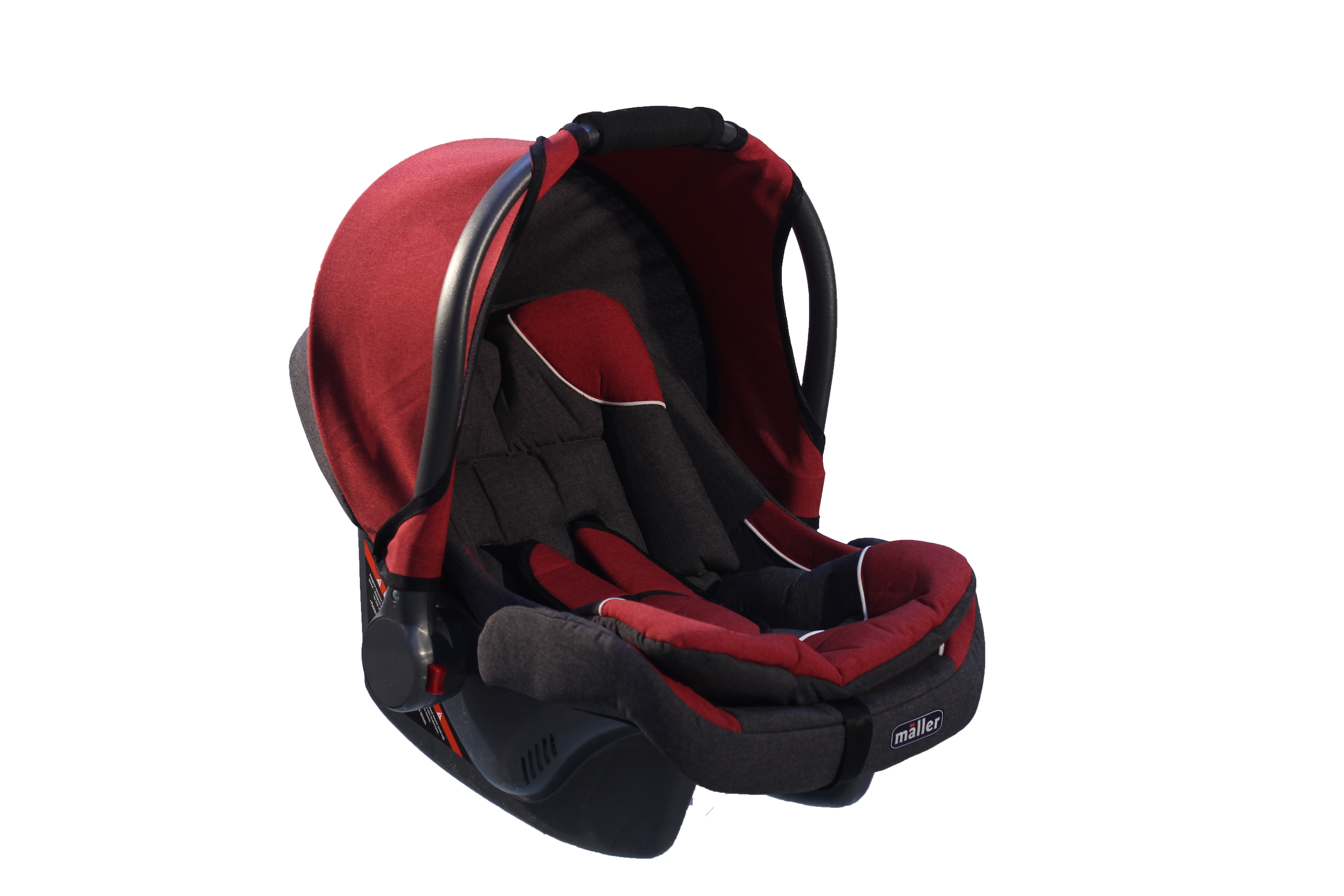 Maller Baby Nexia 0-13kg Taşıma Siyah Kırmızı