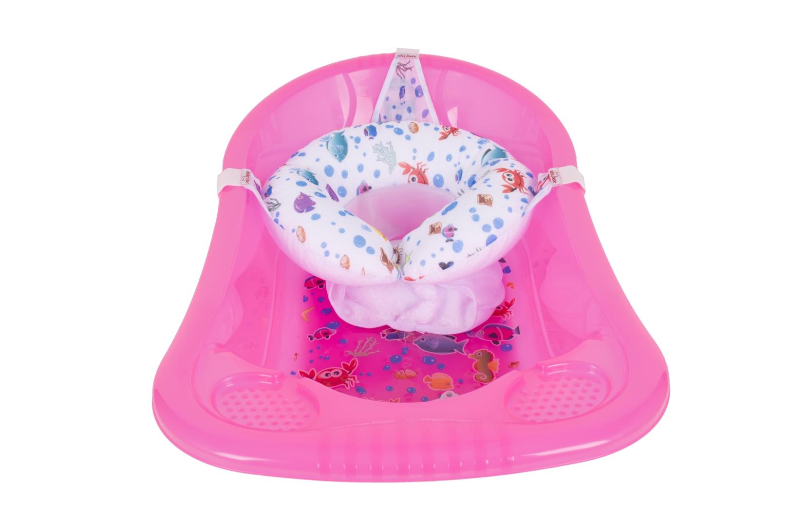Sevi Bebe Oturaklı Bebek Banyo Filesi - Akvaryum Desen