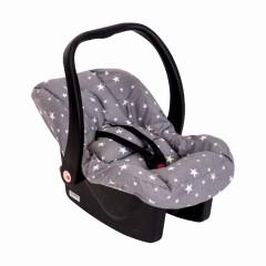 Sevi Bebe Bel Destekli Anakucağı Örtüsü - Gri Yıldız