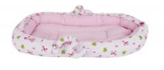 Sevi Bebe Anne Yanı Bebek Yatağı - Prenses Desen