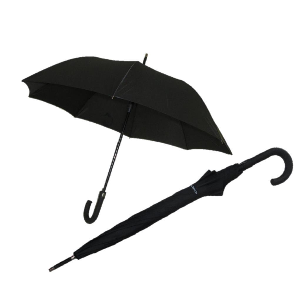 Fiber Siyah Baston Rüzgarda Kırılmayan Şemsiye
