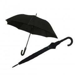 Fiber Siyah Baston Rüzgarda Kırılmayan Şemsiye-0