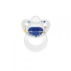 Wee Baby 834 Desenli Damaklı Emzik 6-18Ay - Mavi