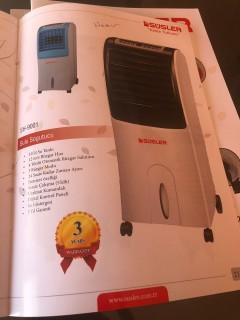 Süsler SH-9001 Sulu Soğutucu
