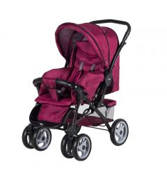 Sunny Baby Star Çift Yönlü Bebek Arabası - Bordo
