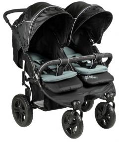 Sunny Baby 814 Sweety İkiz Bebek Arabası - Siyah