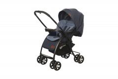 Baby2Go 8021 Loola Çift Yönlü Bebek Arabası Kırmızı-1