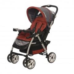 Baby2Go 8025 Carnaval Çift Yönlü Bebek Arabası Kırmızı