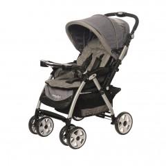 Baby2Go 8025 Carnaval Çift Yönlü Bebek Arabası Gri