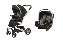 Baby2Go 8030 Volo Private Travel Sistem Bebek Arabası Siyah