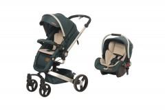 Baby2Go 8030 Volo Private Travel Sistem Bebek Arabası Yeşil
