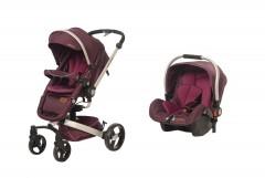 Baby2Go 8030 Volo Private Travel Sistem Bebek Arabası Mor