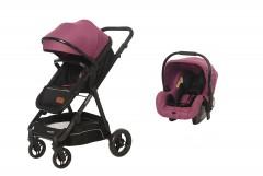 Baby2Go 8041 Venus Travel Sistem Bebek Arabası Mor