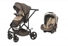 Baby2Go 8044 Spring Travel Sistem Bebek Arabası Gri