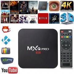 Mxq Pro 4K 3D 64Bit Android 7.1 Smart Tv Box Uydu