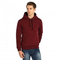 7 Renk Kışlık Kalın Kapşonlu Erkek Sweatshirt Hoodie-2