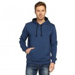 7 Renk Kışlık Kalın Kapşonlu Erkek Sweatshirt Hoodie-3