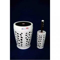 Çöp Kovası + Wc Fırça Set  597S