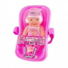 Oyuncak Ana Kucağı Bebekli 7643S