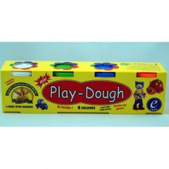 Modatools Oyun Hamuru Play Dough 4 Li Mini 6176S