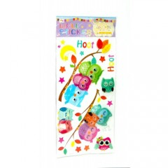 Modatools  Sticker 3d Baykuş 1474S