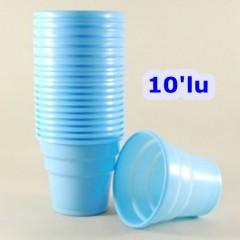 Plastik Bardak 10 Lu Mavi 10339S