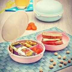 Beslenme Kabı Makaron (Hamburger Şekilli) 9509S