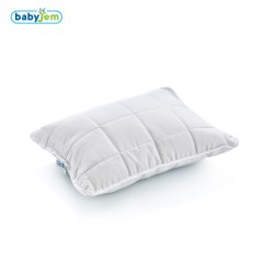 Babyjem Mikrofiber Bebe Yastığı Beyaz
