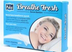 Pufai Breathe Fresh Burun Bandı Şeffaf Büyük Horlama Son 10 Adet-1