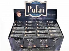 Pufai Sigara Filtresi 8 Mm Standart Boy Ağızlık 600 Adet 20 Kutu-0