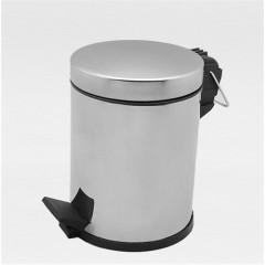 Çöp Kovası Pedallı Paslanmaz 12 Lt-0