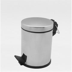 Çöp Kovası Pedallı Paslanmaz 5 Lt-0